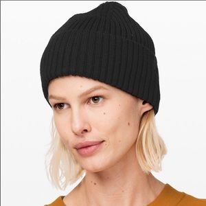 Lululemon Black On To Of It Beanie Winter Hat